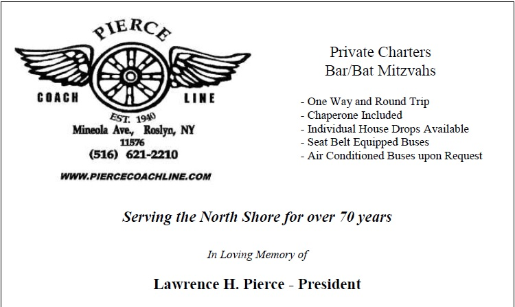 Pierce Coach Line Charters