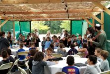 RS in the sukkah