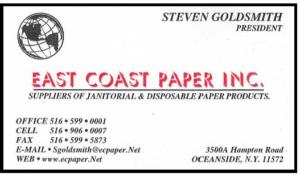 East Coast Paper Oceanside