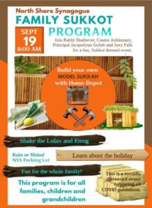 Family Sukkot Program